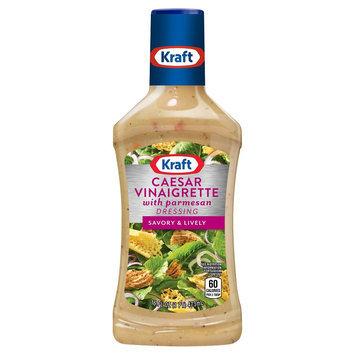 Kraft Vinaigrette Caesar Parmesan Salad Dressing 16 oz