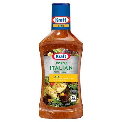 Kraft Lite Zesty Italian Salad Dressing 16 oz