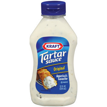 Kraft Original Tartar Sauce Squeeze Bottle 12 oz