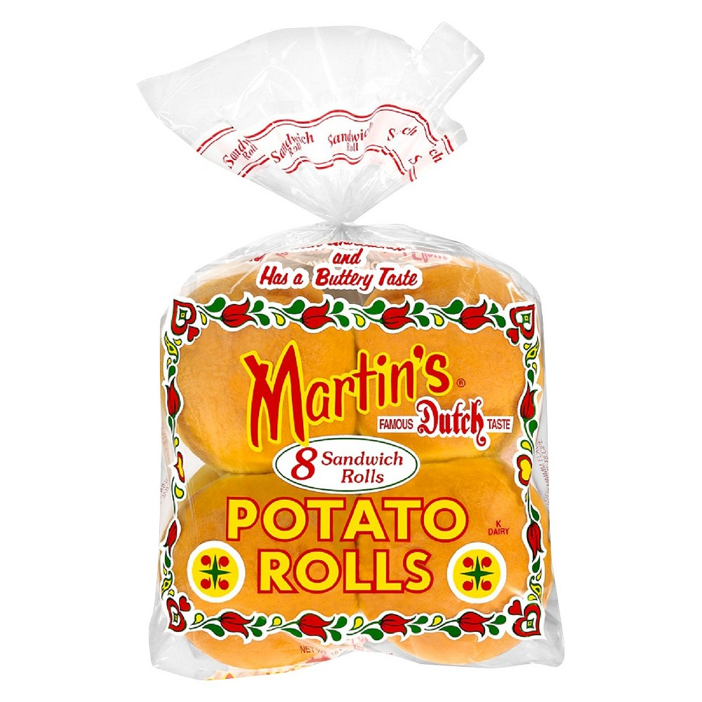 Martins Martin s Sandwich Potato Rolls 8 ct
