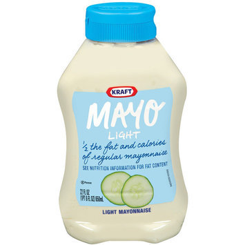Kraft Light Mayonnaise Squeeze Bottle 22 oz