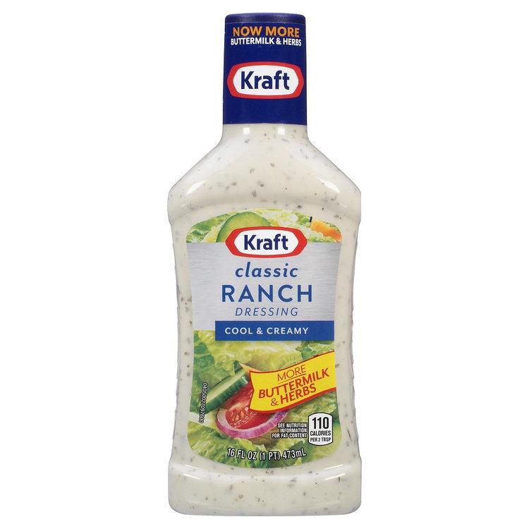 fcd8cffa8 Kraft Classic Ranch Salad Dressing 16 oz Reviews 2019