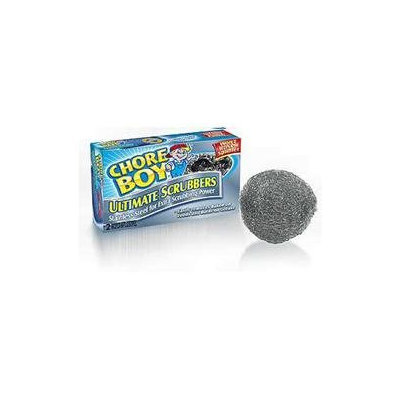 Spic & Span Company Spic And Span Company Chore Boy Stainless Steel Scrubbers (Pack of 2)