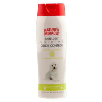 Nature's Miracle NATURE'S MIRACLETM Jasmine Pear Scented Whitening Dog Shampoo & Conditioner