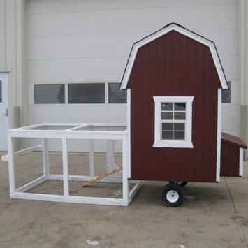 Little Cottage Gambrel Barn Run Chicken Coop