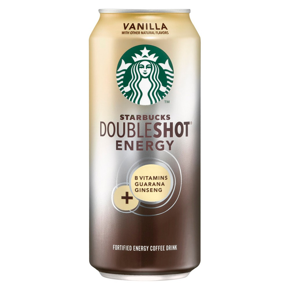 Starbucks Doubleshot Energy Vanilla Fortified Energy Coffee Drink 15 oz
