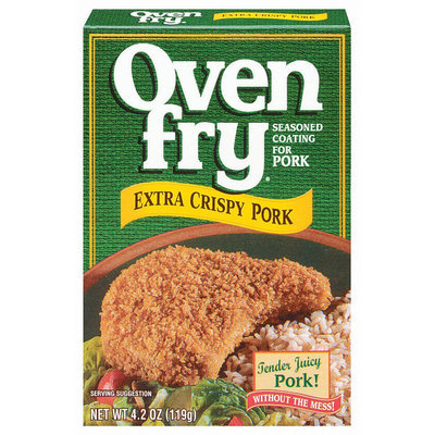 Oven Fry Extra Crispy Seasoned Coating for Pork 4.2 oz