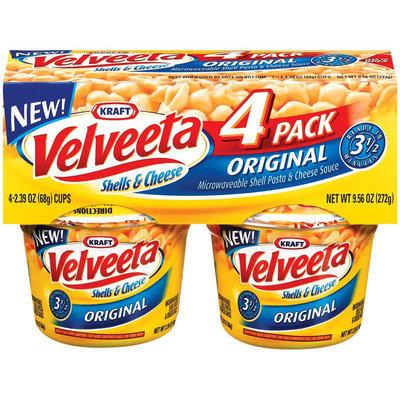 Velveeta Original Shells & Cheese 4 pk