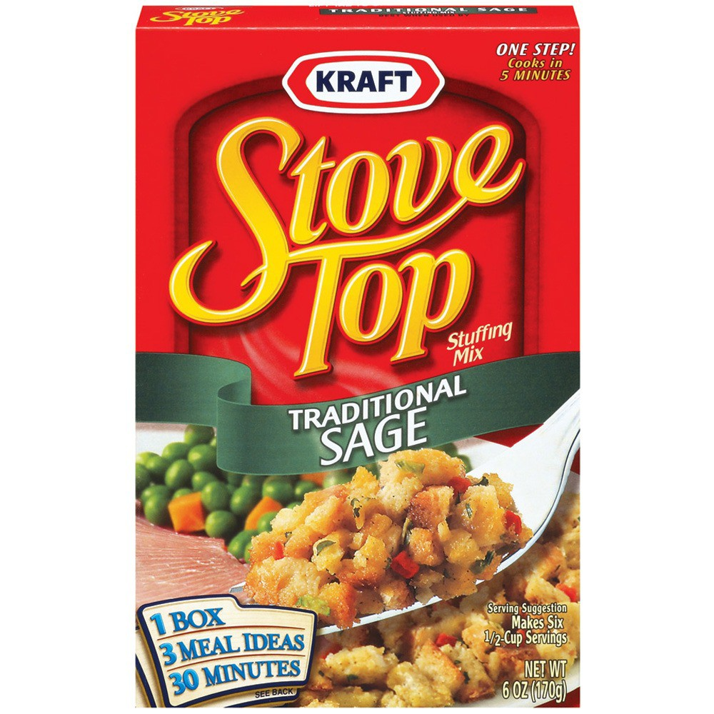 Stove Top Traditional Sage Stuffing Mix 6 oz
