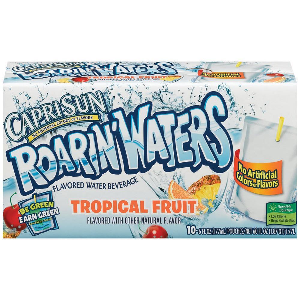 Capri Sun Roarin' Waters Tropical Fruit Juice Drinks