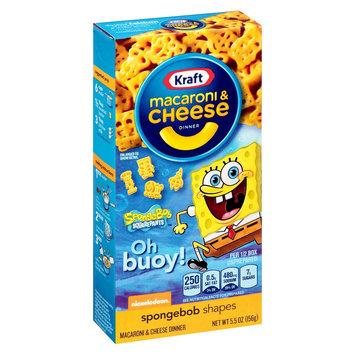 Kraft Spongebob Squarepants Macaroni & Cheese Dinner 5.5 oz
