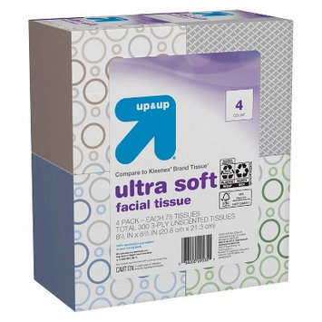 up & up Ultra Soft Facial Tissues