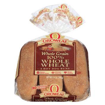 Oroweat 100% Whole Wheat Hotdog Buns - 8-ct.
