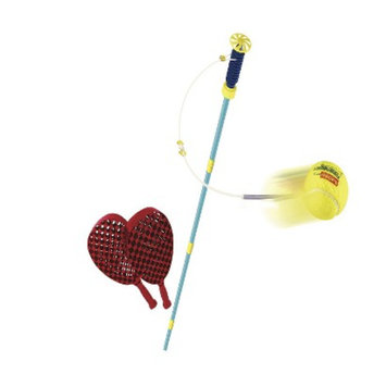 National Sporting Goods Mookie Junior Swingball Classic Racquet Game Set - Multicolor (4.5 Lb)