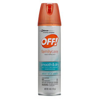 OFF! FamilyCare Insect Repellent I (Smooth & Dry) 4 oz