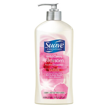 Unilever Suave Essentials Wild Cherry Blossom Body Lotion 18 oz