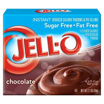 Jell-O Instant Sugar Free-Fat Free Chocolate Pudding & Pie Filling 2.