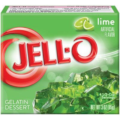 Jell-O Lime Gelatin 3 oz
