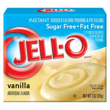 Jell-O Instant Sugar Free-Fat Free Vanilla Pudding & Pie Filling .8 oz