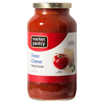 Market Pantry Three Cheese Pasta Sauce 26 oz