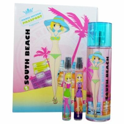 Paris Hilton Passport South Beach Women's Gift Set 3 Piece, 1 set