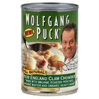 Wolfgang Puck 62158 Organic Clam England Clam Chowder Soup
