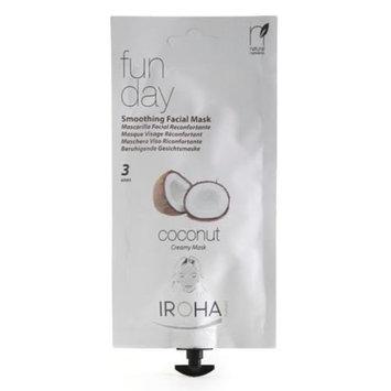 Iroha Nature Iroha Facial Creamy Mask Smoothing Coconut .88 fl oz 3 Uses
