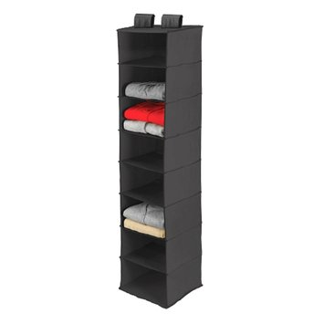 Honey-Can-Do 8 Shelf Closet Organizer Black