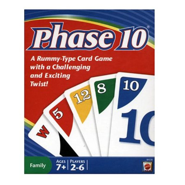 Phase 10 Card Game, 1 ea