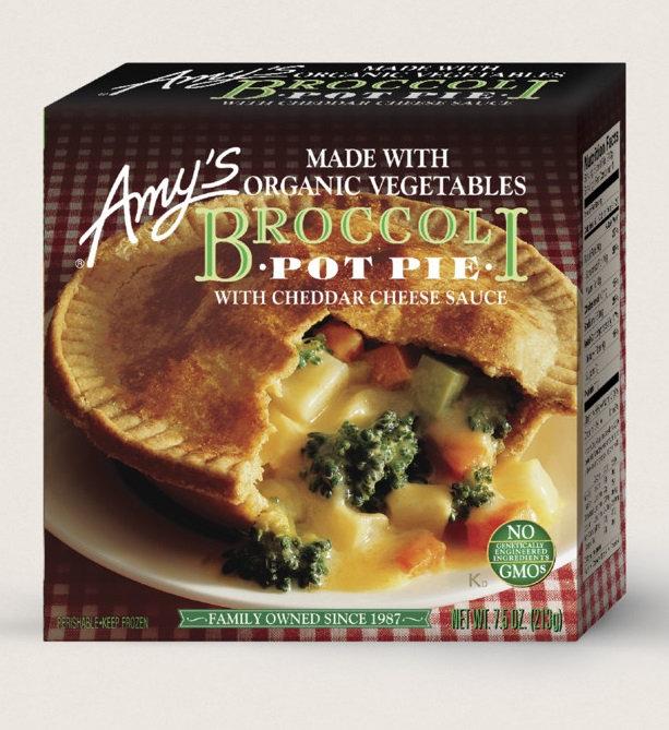 Amy's Kitchen Broccoli Pot Pie