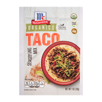 McCormick® Organics Taco Seasoning Mix