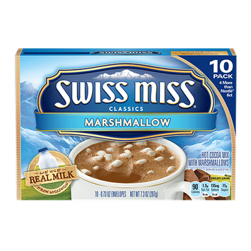Swiss Miss Milk Chocolate with Marshmallow Cocoa Mix