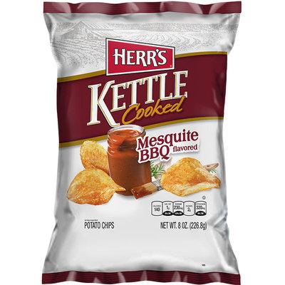 Herr's® Mesquite BBQ Kettle Cooked Potato Chips