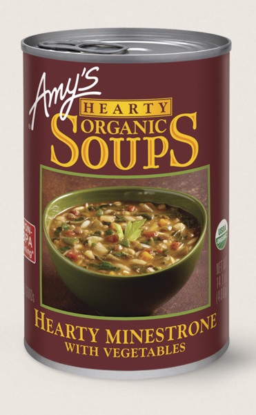 Amy's Kitchen Organic Hearty Minestrone With Vegetables