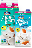 Almond Breeze® Almondmilk Almond Coconut Unsweetened Original