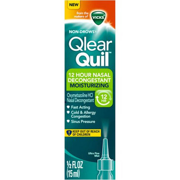 QlearQuil™ 12 Hour Nasal Decongestant Moisturizing Ultra Fine Mist