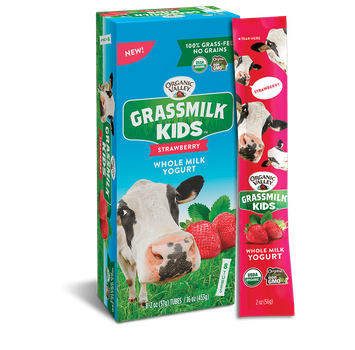 Organic Valley® Strawberry Grassmilk Kids Yogurt Tube