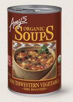 Amy's Kitchen Organic Fire Roasted Southwestern Vegetable Soup