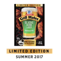 McCormick® Grill Mates® Classic Herb Lager Marinade Mix