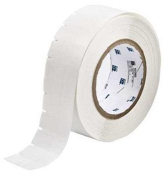 BRADY THT1334613 Label, White/Translucent, Blank, Polyester