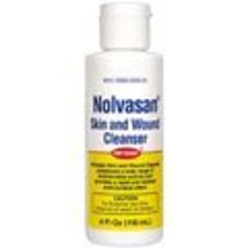 Pfizer Nolvasan Skin & Wound Cleanser 4oz Bottle