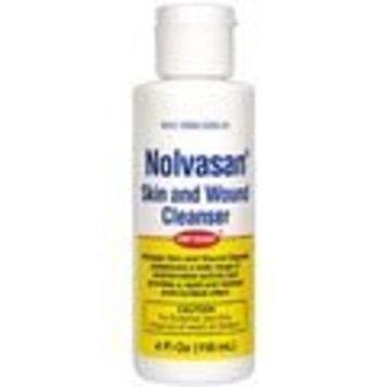 Pfizer Nolvasan Skin & Wound Cleanser 4oz Bottle