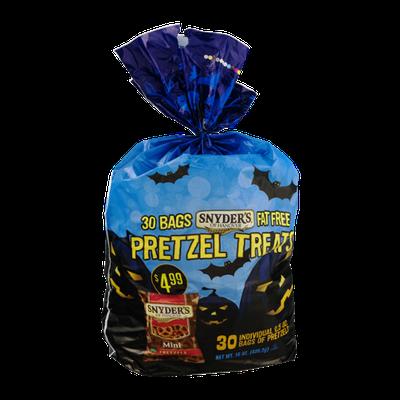 Snyder's Of Hanover Pretzel Treats Fat Free Individual Bags - 30 CT
