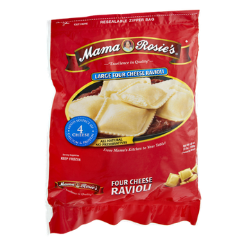 Mama Rosie's Large Four Cheese Ravioli