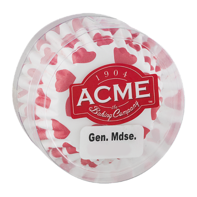 Acme Muffin Size Baking Cups Hearts