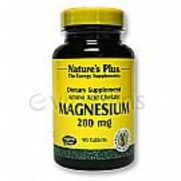 Nature's Plus - Magnesium, 200 mg, 90 tablets [Misc.]