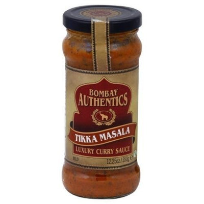 Bombay Authentics, Sauce Curry Tikka Masala, 12.25 OZ (Pack of 6)