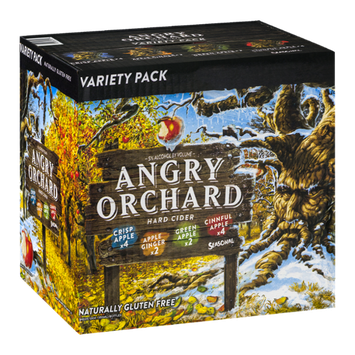 Angry Orchard Hard Cider Variety Pack - 12 CT