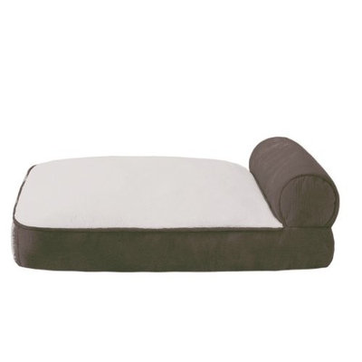 Soft Touch JLA Pets Elephant Skin Bolster Lounger Dog Bed