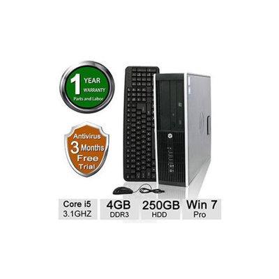 Refurbished HP Elite 8200 Desktop PC - Intel Core i5-2400 3.10GHz, 4GB DDR3 Memory, 250GB HDD, DVD, Windows 7 Professional 64-bit (O